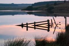 Penwhirn-reservoir-sunset